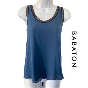 Babaton 100% Silk Double-layer Camisole Blouse